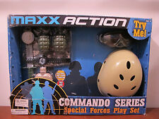 MAXX ACTION COMMANDO SERIES Special Forces Kids Childs Play Set  *MISSING GUN**