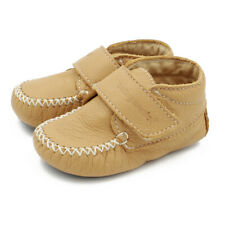 Maiorista Baby Shoes Camel Leather Moccasins Made in Portugal