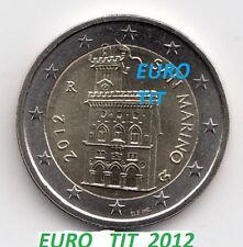 2  EURO  SAINT  MARIN  2012  NORMALE       NEUVE      RARE      disponible