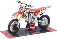 Cole Seely 2018 Honda CRF450R Red Motorcross Bike Model 1:12 Scale New Ray 57933