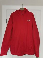 """North Face Red Hyvent Hooded Rain Jacket / Waterproof Anorak.XL - XXL 54"""" Chest"""