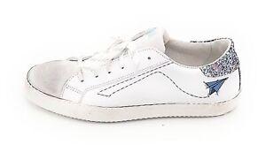 Ovye AM1661 sneaker lacci pelle -crosta bianco-glitter multicolor0-1