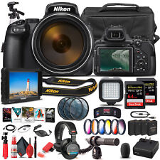 Nikon COOLPIX P1000 Digital Camera 26522  - Pro Bundle