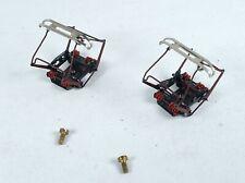 1 Paar 2 Stück Sommerfeldt 942 Scheren Stromabnehmer SBS 10 Doppelwippe SET NEUW