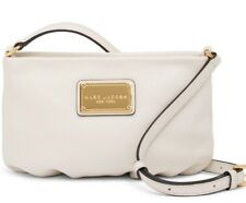 NEW MARC BY MARC JACOBS CLASSIC CROSSBODY SHOULDER BAG HANDBAG Vintage White