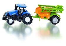 SIKU 1668 Holland Tractor With Field Sprayer