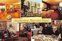CPSM POSTACRD PAYS BAS NEDERLAND NETHERLANDS Amsterdam Mariott hotel multivues