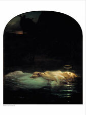 Delaroche - Young Martyr - fine art giclee print poster wall art various sizes