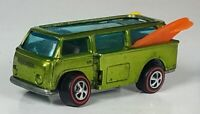 Restored Hot Wheels Redline - 1969 - Volkswagen Beach Bomb - Apple