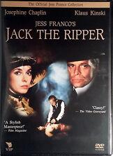 EROTICO PROFONDO JACK THE RIPPER - Franco DVD Chaplin Kinski