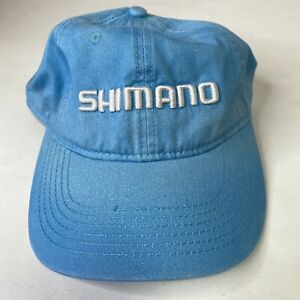Shimano Light Blue Adult Bicycle Cycling Adjustable Cap Hat