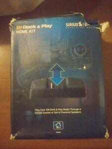 Sirius XM Dock & Play Home Kit XADH1 / OPEN BOX