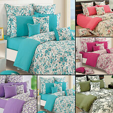 100% Cotton Twin Queen Size Home Decorative Floral Bedding Comforter -7314