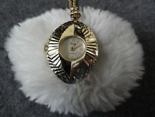 Wind Up Necklace Pendant Watch Swiss Made Lady Nelson Anti Magnetic