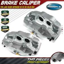 2x Brake Calipers Front Left&Right for Land Rover Defender 90 110 130 Solid Disc
