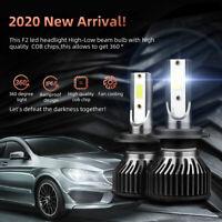 2X LED Headlight Bulbs Conversion H7 High Low Beam Bright 6000K