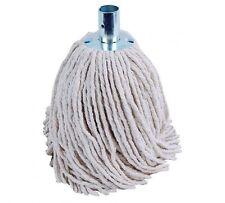 10 Heavyduty 200GMS cadena de algodón Mophead Acero Zócalo de limpieza de baldosas de recarga
