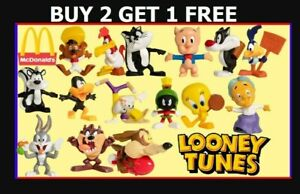 McDonalds Happy Meal Toys Characters Looney Tunes 2020 Official McDonald's BNIP