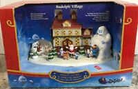 New Rare Yukon Bumble Clarice Santa Sam Hermey Rudolph Animated Music Village