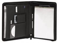 Bodenschatz Schreibmappe Notebook DIN A4 schwarz