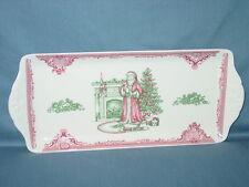 Johnson Brothers OLD BRITAIN CASTLES CHRISTMAS Santa Sandwich Serving Tray