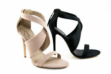 High (3 in. and Up) Party Heels Women's Synthetic Stilettos
