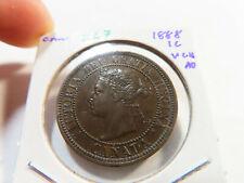 Z67 Canada 1888 Large Cent Very Choice AU