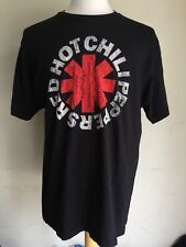 """RED HOT CHILI PEPPERS (2014) Official """"Vintage Washed"""" Logo T-Shirt Size XL"""