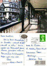 1990's THE ROWS CHESTER CHESHIRE COLOUR POSTCARD
