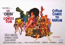 COTTON COMES TO HARLEM Belgian movie poster 1970 BLAXPLOITATION ROBERT McGINNIS