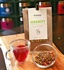 🍓🍓 NEW!! RARE! TEAVANA SERENITY WELLNESS LOOSE LEAF HERBAL 2 OZ TEA BAG! 🍓🍓