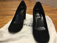 Women's shoes L. K. Bennet suede black high heels made in Italy size 38 (UK 5)