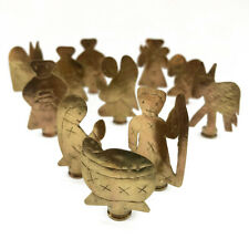 Bullet Nativity Set from Liberia - 11 Piece Set - Africa Heartwood Project