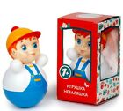 Внешний вид - Redhead Baby Boy Nevalyashka, Roly Poly Russian Tilting Toy Made in Russia 6-in