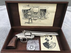 Replica 1869 S&W Schofield Revolver Prop Gun (Nickel) Wyatt Earp Jesse James