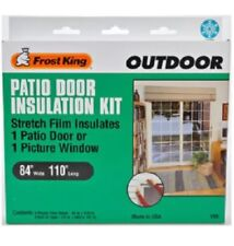 """Frost King V96H Outdoo Patio Door Insulation Kit, 84""""x110"""""""