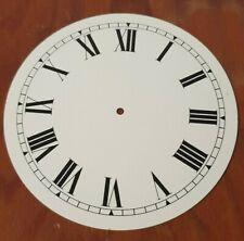 Clock dial Roman numerals , OD 100 mm White  finish