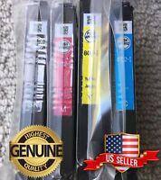 Genuine Epson 802 4 Ink Set - WF Pro 4720 4730 4734 4740 802 802XL Compatible