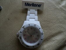 Large Face Meritene Nursing watch Never been used Still Has a Plastic Cover
