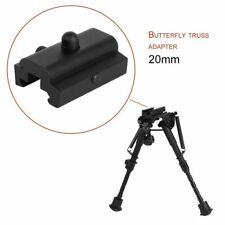 Black Aluminum Tactical Hunting Sling Swivel Stud Adapter Harris Rifle Bipod ST