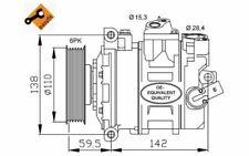 NRF Kompressor 12V für SKODA OCTAVIA VOLKSWAGEN SCIROCCO PASSAT GOLF 32146