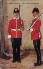 Lancashire Corps & Regiments Printed Collectable Military Postcards