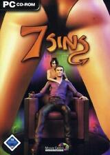 7 Sins PC Wer sündigt nicht gerne Sims für Erwachsene mit Handbuch PC neuw.