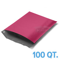 100 - 10x13 PINK POLY MAILERS ENVELOPES BAGS 10 x 13 - 2.5MIL from The Boxery