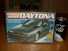 G-24 Dodge Daytona Sports Car, Plastic Model Car Kit, Scale 1:25