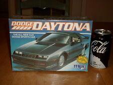 G-24 Dodge Daytona Sports Car, Plastic Model Car Kit, Scale 1:25