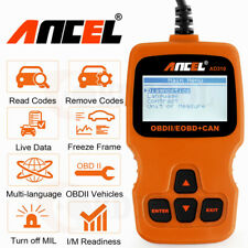 Universal Automotive Code Reader OBD2 Car Check Engine Fault Live Data Scanner