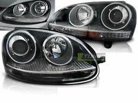 Headlights for VW GOLF 5 V 03-09 GTI STYLE Look Black LHD LPVW20-ED XINO