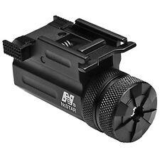 NcSTAR Compact Green Pistol Laser w/ Quick Release Weaver Rail Mount AQPTLMG