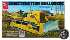 AMT 1086 1:25 Construction Bulldozer Plastic Model Kit